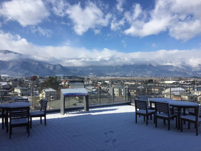 安曇野市って雪すごいですよね?いやいや。。 | 安曇野・白馬 ...