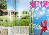 11月9日の「週刊新潮」「酒蔵の柱梁使用したこだわりの一戸建て」